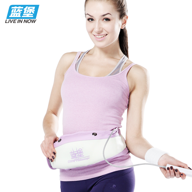Shook motivation rejection of fat thin waist thin belly fat burning vibration rejection of meat machine shiver machine rejection of fat lazy slimming machine home