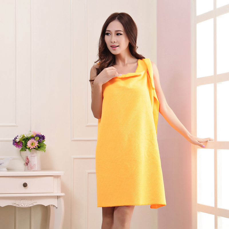 Get Quotations · Shulan duo variety bra bath skirt can be worn to increase  adult bath towel thicker couple 6fe10c507