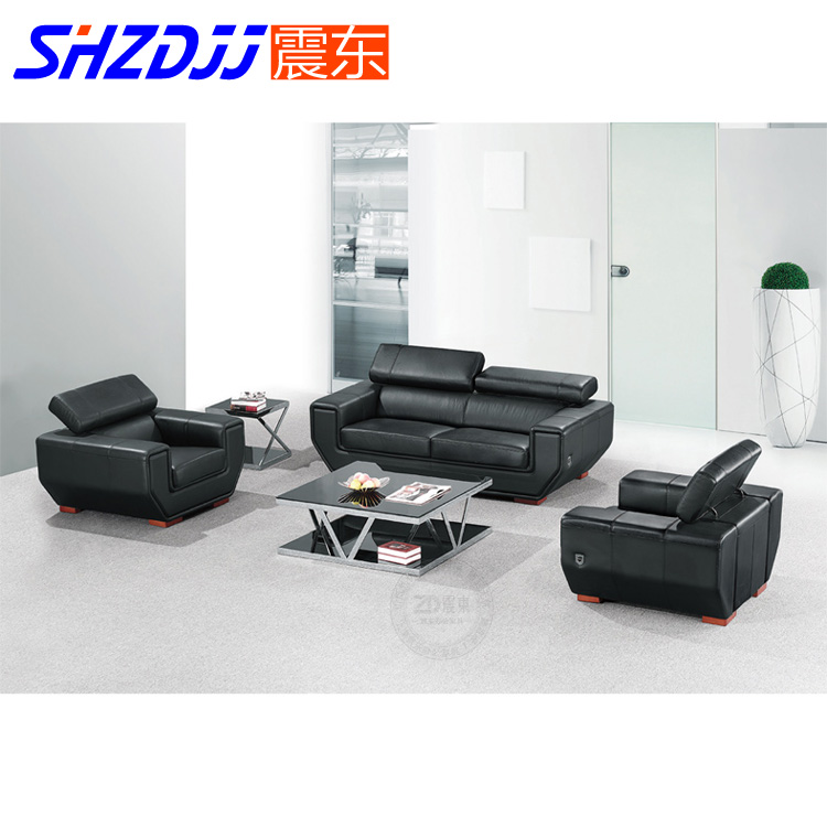 Shzdjj modern minimalist leather business office to discuss the reception parlor sofa office sofa sipi