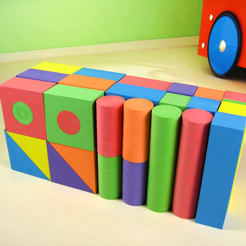 Sier fu eva software building blocks of foam sponge years old children enlightenment early childhood educational toys safe and nontoxic