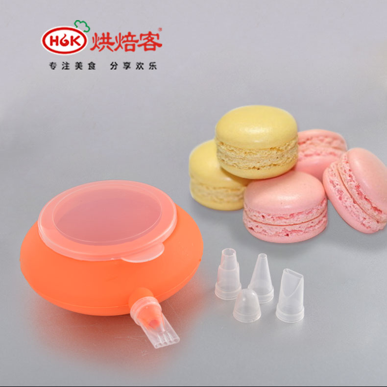 Silicone pot decorating decorating kit mouth mouth decorating is crowded flower mouth bakeware baking macarons 4