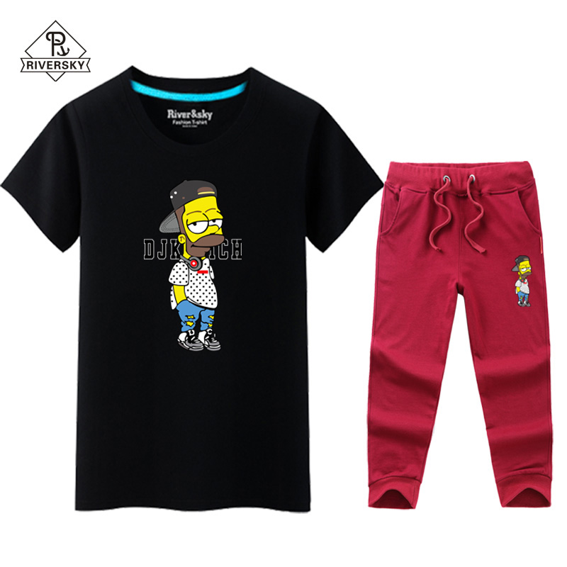 380929cbb Get Quotations · Simpson tide brand short sleeve t-shirt male cotton round  neck half sleeve summer suit