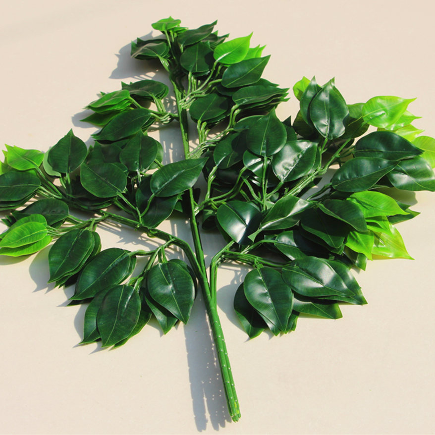 Simulation banyan leaves feel banyan leaf vines simulation modeling simulation fake tree leaves leaves leaf decoration engineering