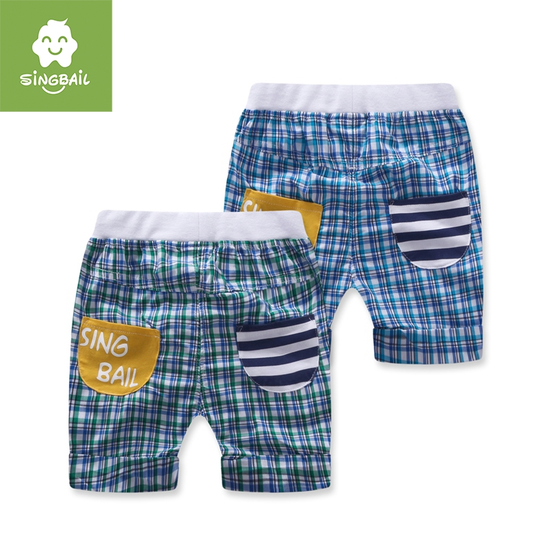 Singbail baby infant boys and girls summer new children's pants children's clothing fashion wild shorts shorts