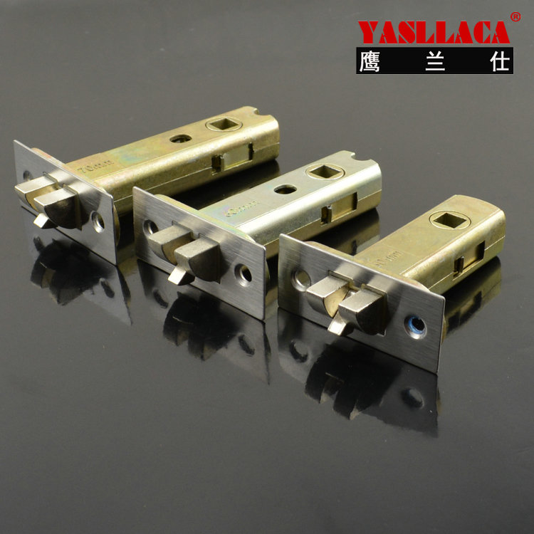 Single bolt mortise door lock cylinder single tongue lock parts center distance 50-70mm