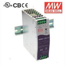 Single phase input ultrathin meanwell rail power 120 w 24v5a WDR-120-24 [tax]