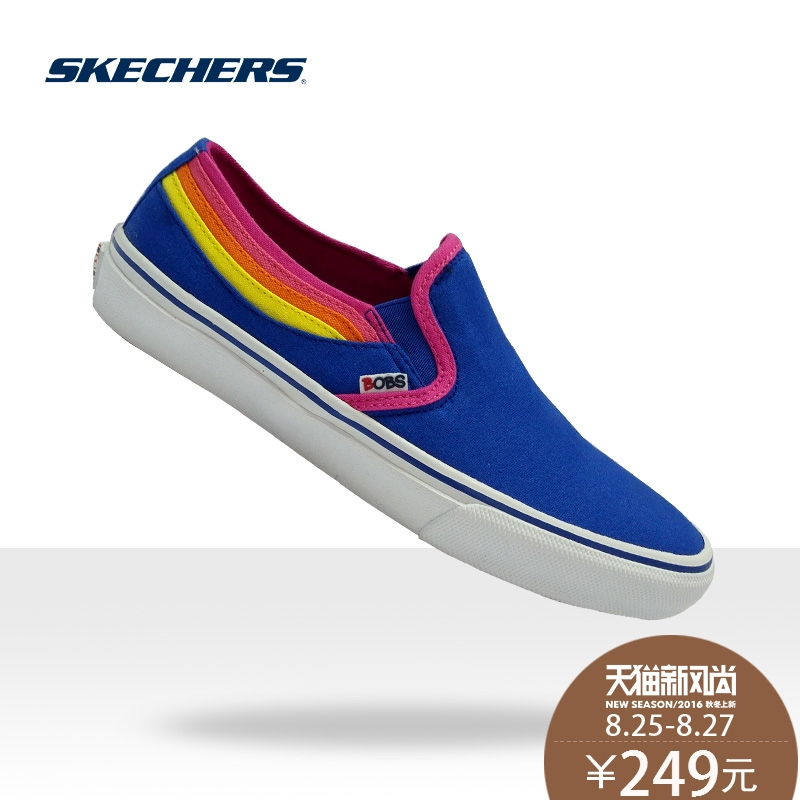 a45e0c7945b9 Get Quotations · Skechers skechers fashion trend wild comfortable shoes set  foot breathable shoes hit the color casual shoes
