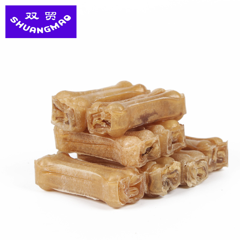 Small dogs dog treats pet molar teeth stick barbecue flavor blended with calcium milk tooth cleaning bone chews 8 loaded
