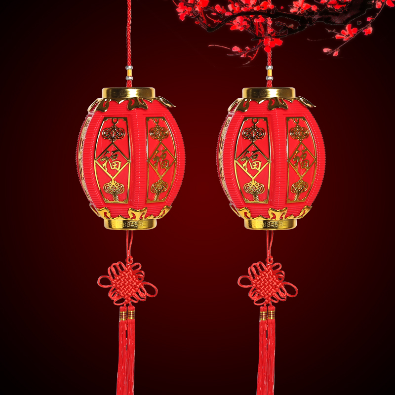 Small lantern ornaments new year new year spring festival new year festive wedding decoration supplies small red lantern string