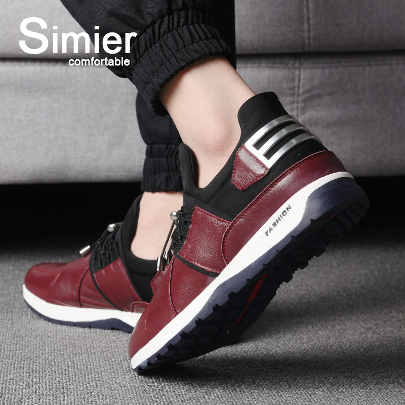 Smil 2016 autumn new men's fashion casual shoes british men's sports and leisure leather shoes youth shoes