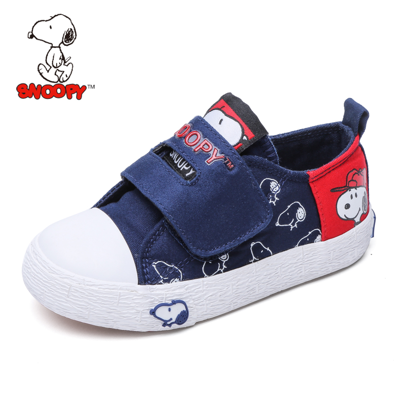 Snoopy shoes boys shoes casual shoes canvas shoes for children 2016 autumn influx of children shoes baby shoes slip shoes