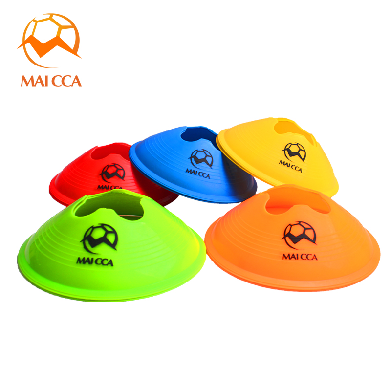 Soccer flag logo plate dish flag football training obstacle flag football training equipment