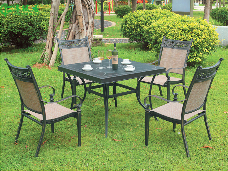 get quotations soon maple home garden outdoor garden patio furniture leisure contadino cast aluminum tables and chairs wujiantao