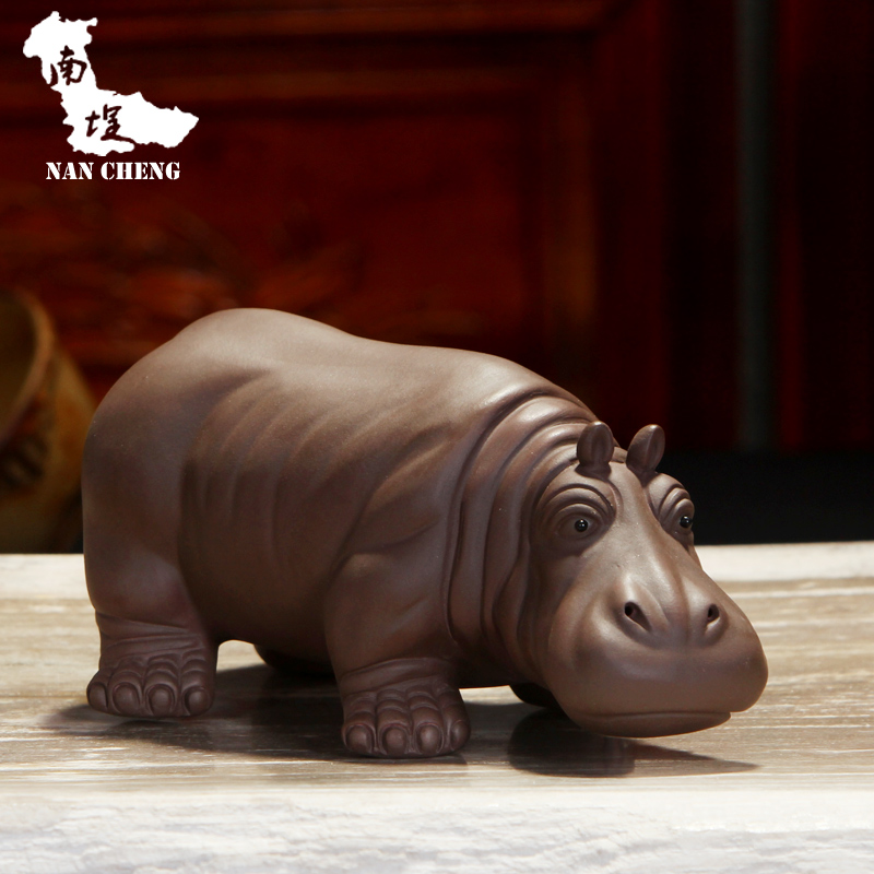South courtyard tea tea accessories boutique yixing purple clay ore authentic yixing tea pet play tea tea pet ornaments office