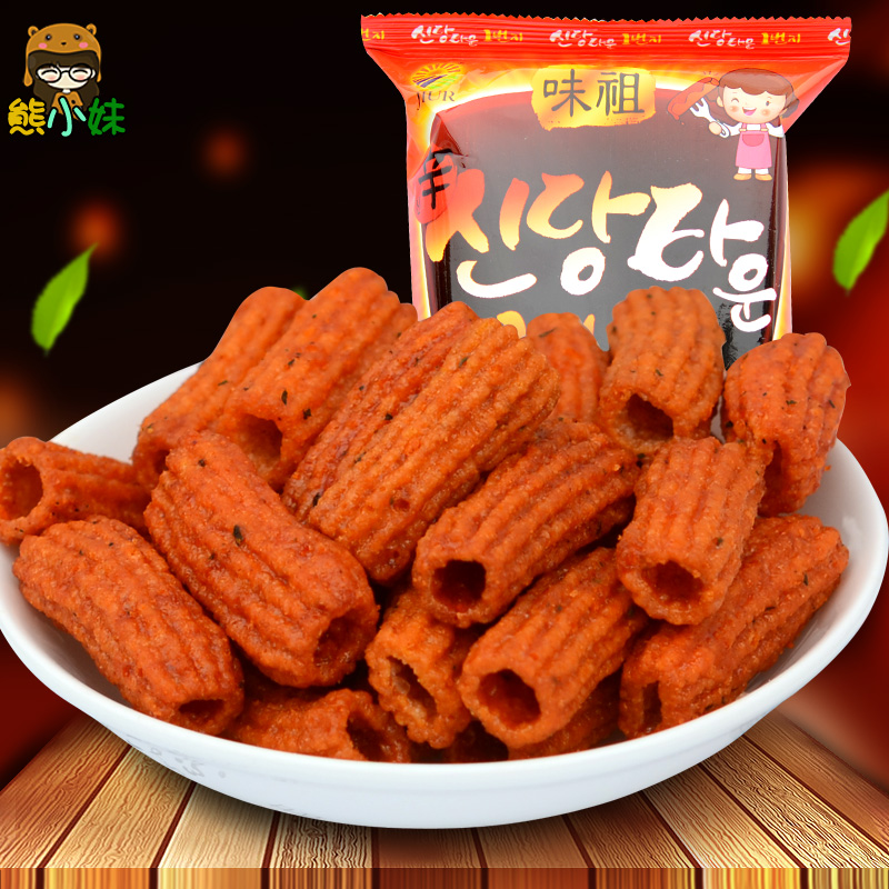 South korea imported food cake pieces fried rice cakes article niangao piccante leisure specialty snack snacks 110g