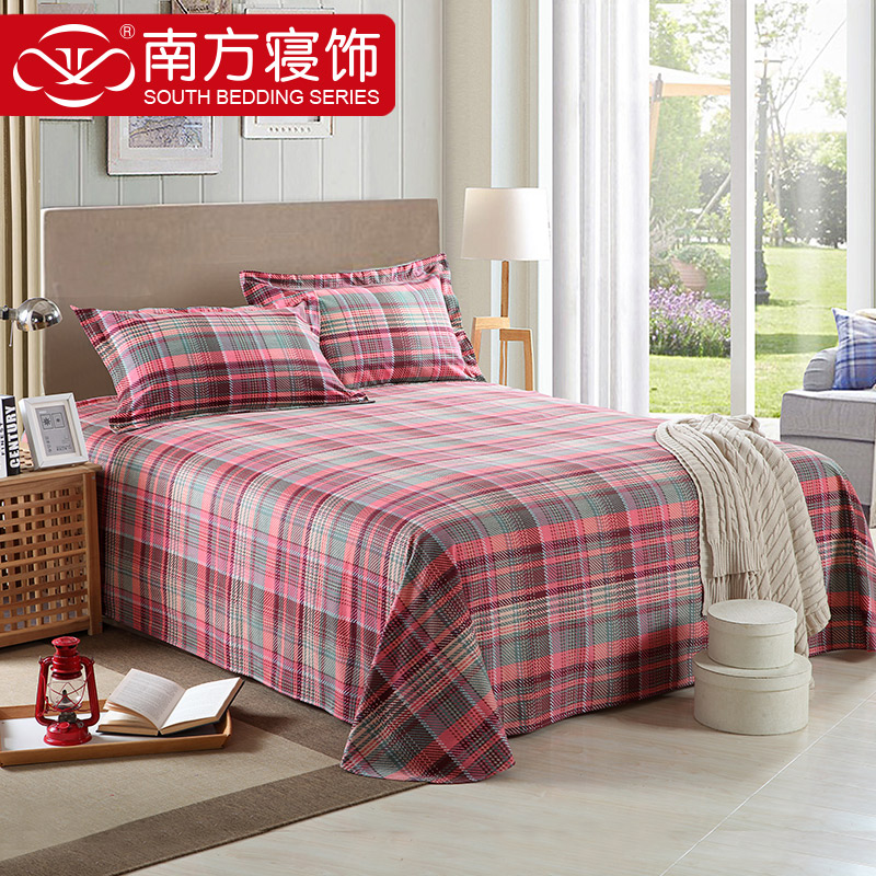 South sleep decorated winter thick cotton brushed cotton bed linen 245*240 to increase the money 1. 5/1. 8 bed general