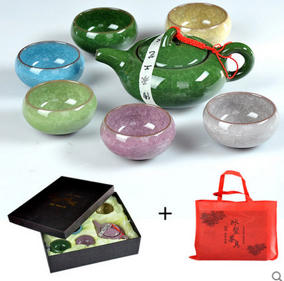 Special binglie tea set kung fu tea cup small cup promotional advertising promotional gifts can add logo to send customers