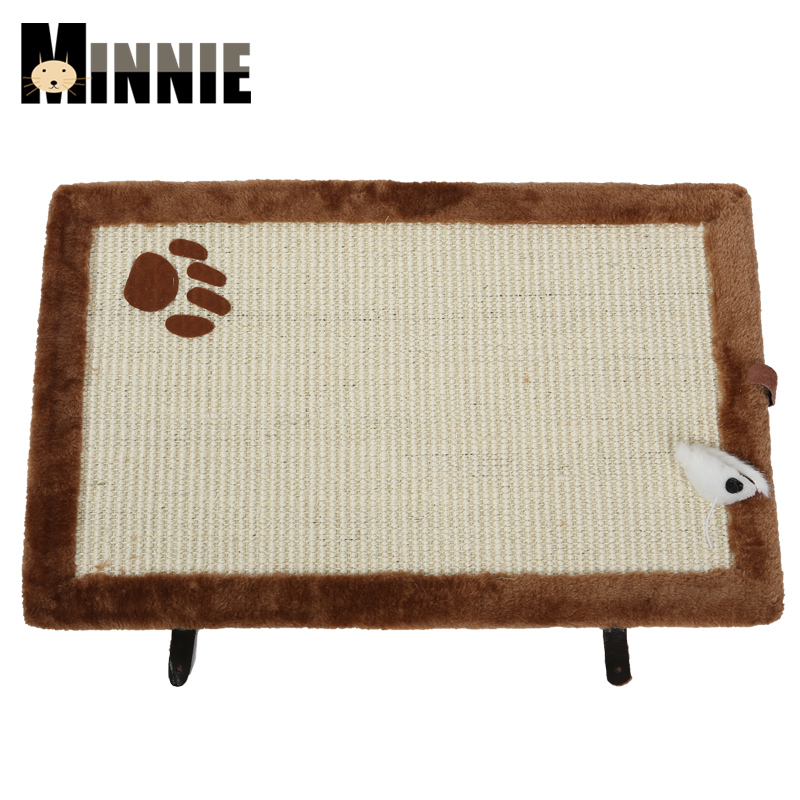 Special cat scratch board sisal cat toy cat scratch post pet paw print board small catlike board mill caught resistant