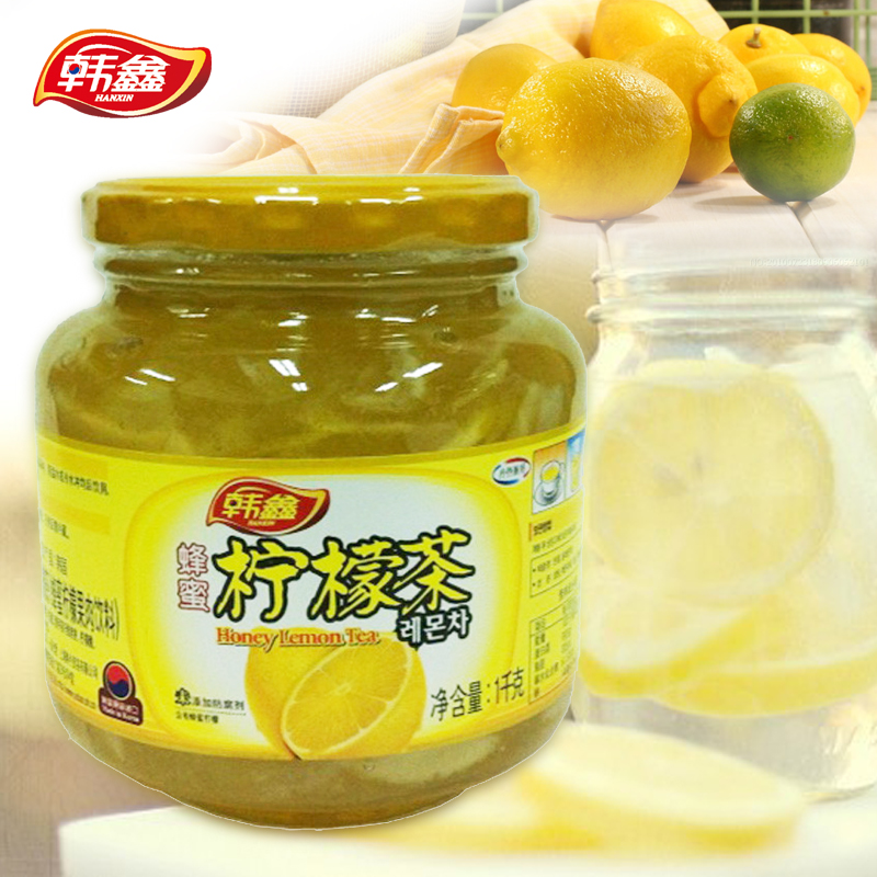 [Special] han xin guacamoie pastelillos 1 KG fruit tea with lemon tea with lemon honey lemon tea drinks