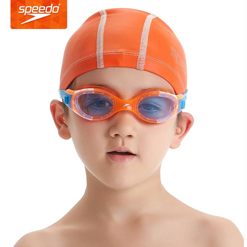1fc3291bb26 Get Quotations · Speedo speedo authentic children's casual large frame  goggles swimming goggles swimming goggles fogging waterproof fourteen books