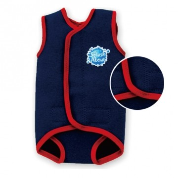 Splash splash about treasure warm swimsuit-navy blue bag/taiwan's official website direct mail import