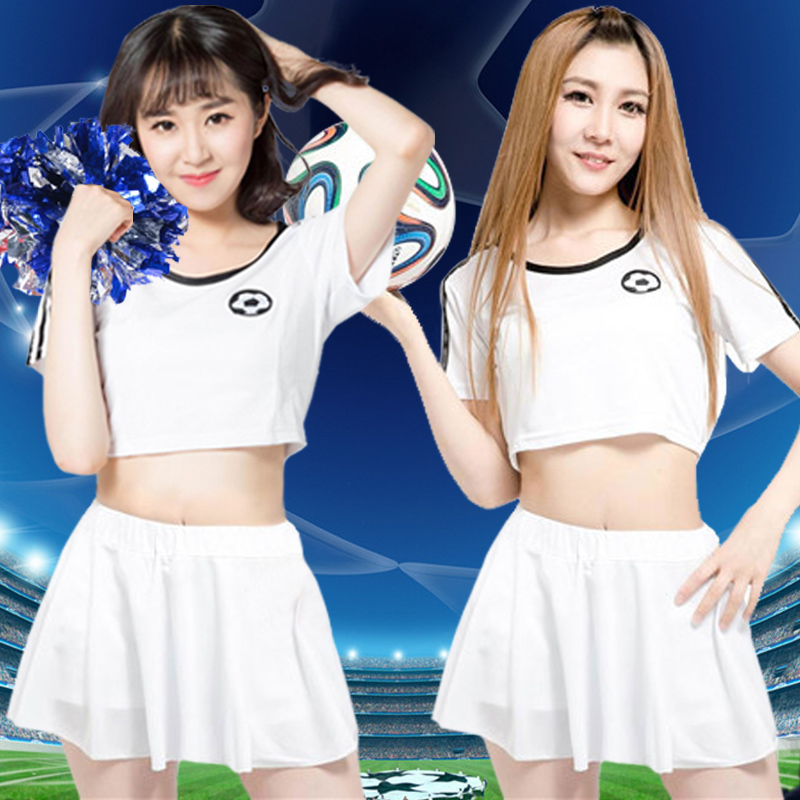 Spring and summer new female models cheerleading uniforms cheerleading apparel cheerleading performance clothing modern singer ds performance clothing costumes
