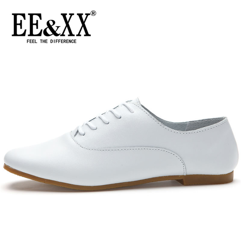 Spring new fashion sweet comfort EEXX2016 solid color flat with adhesive shoes deep mouth round low shoes 1388