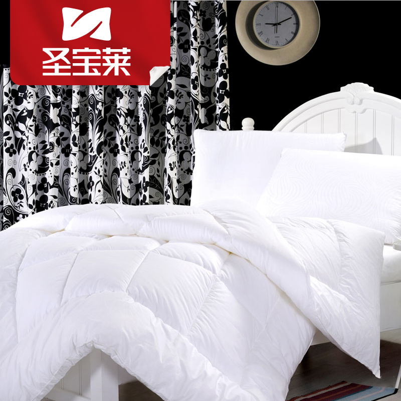 St. bollywood textile elegant quilted cotton autumn and winter are the core velvet feather quilt thick winter quilt