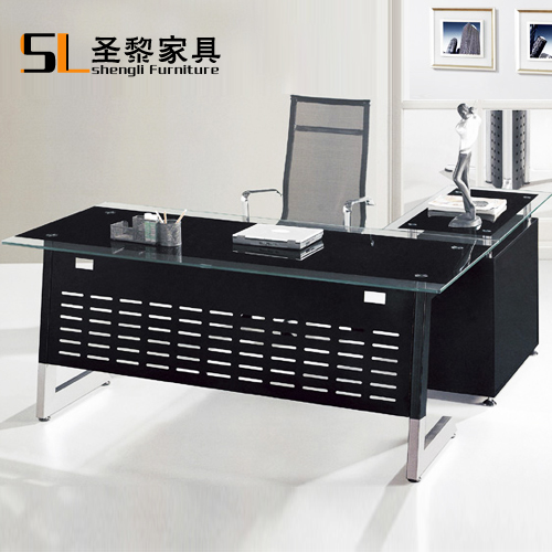 St. li herculite furniture glass table desk manager boss desk desk taipan head table desk 6620