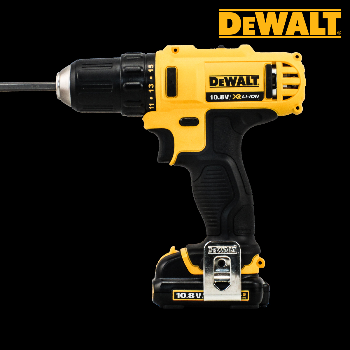 Stanley dewalt series 10.8V 1.5ah lithium rechargeable lithium rechargeable drill drill screwdriver kit 10mm