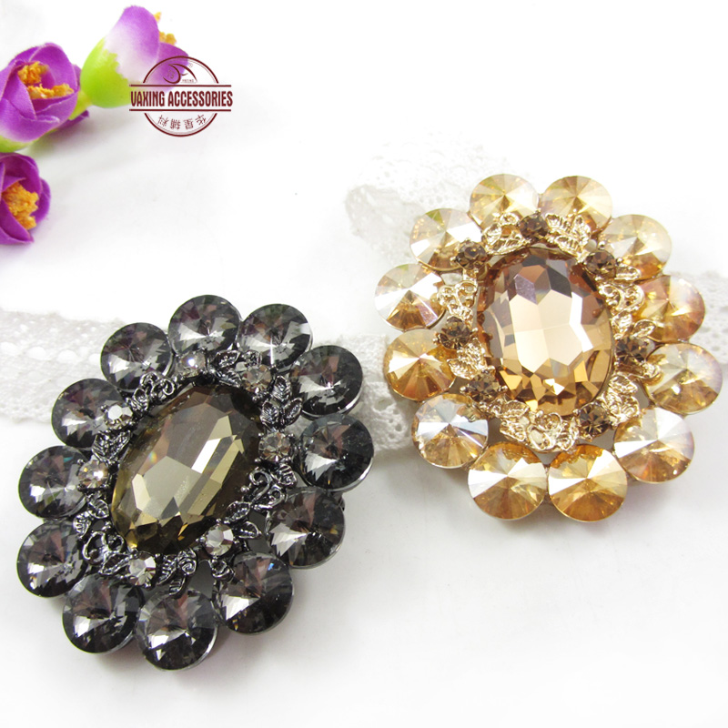 [Star] accessories water rabbit fur fashion atmosphere brooch rhinestone brooch brooch jewelry decorative front chest
