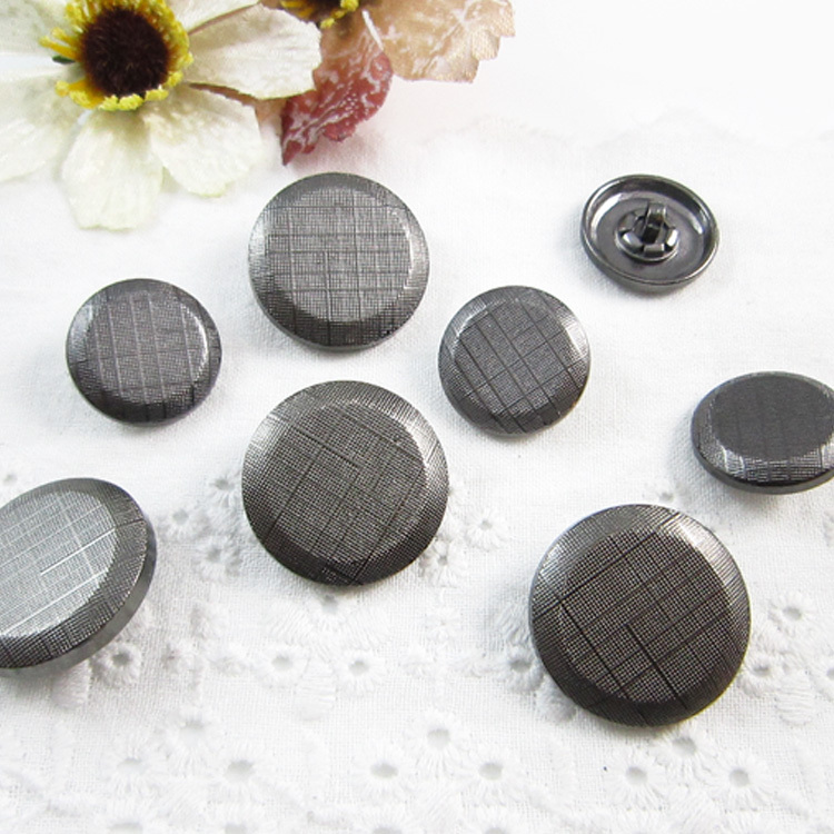 [Star] new accessories sew buttons high fashion stripes fashion leather coat button buttons buttoned
