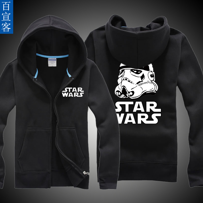 Star wars clothes hitz coat spring and autumn thin section adolescent boys hooded sweater adolescent years