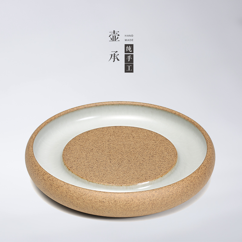 Stoneware pot bearing support tuohai ru ceramic teapot tea tray dry foam taiwan taiwan tea tea saucer tea pad to raise the pot