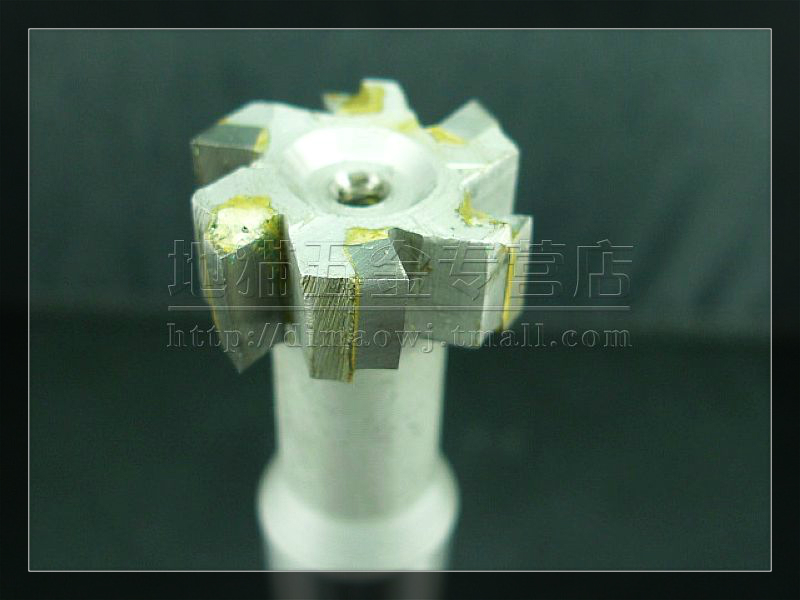 Straight shank tungsten steel/inlay alloy trapezoid t type milling cutter milling cutter 16*20 */25/30/35*4 * 5*6*8*10*12