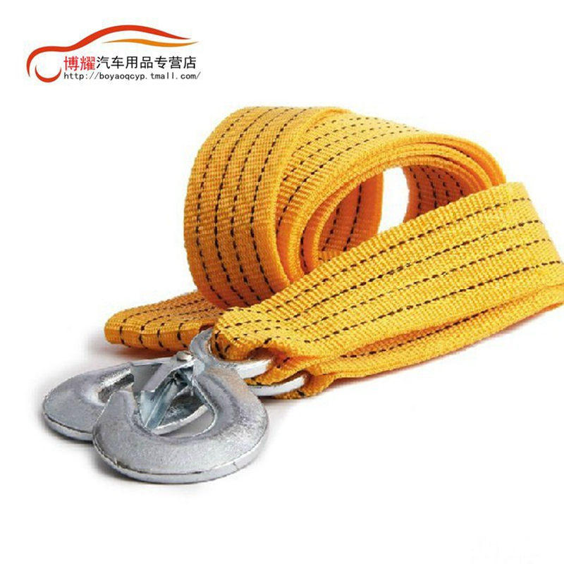 Strong fluorescence car tow rope/pull a cart rope car tow rope/trailer with a car tow rope thicker type