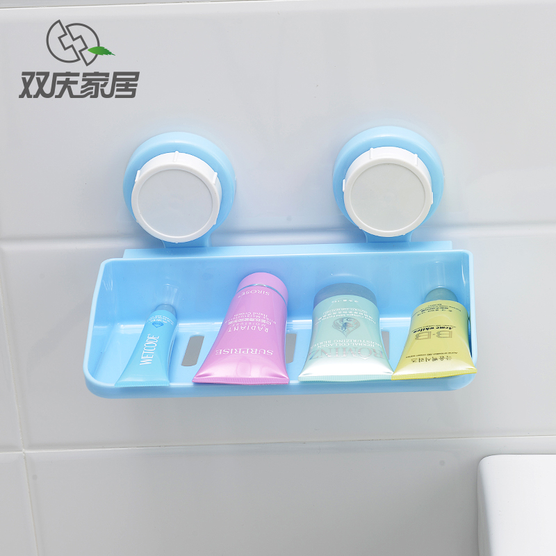 Sucker shelf bathroom wall shelving racks bathroom bathroom shelving sucker bathroom jiaojia kitchen