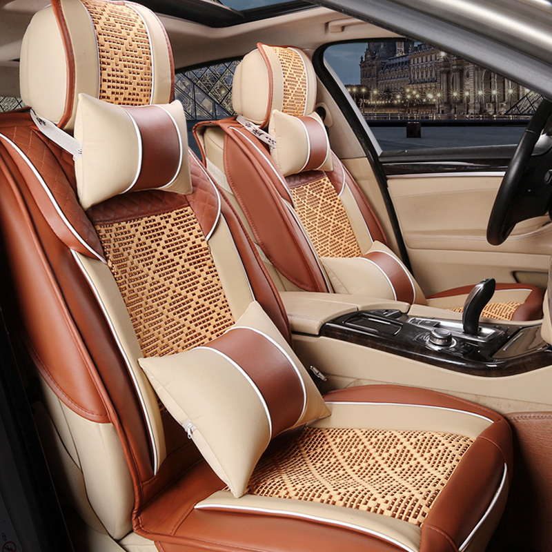 Summer ice silk leather car seat bmw 1 series 3 series 5 series x1x3 whole ice silk cushion car mats