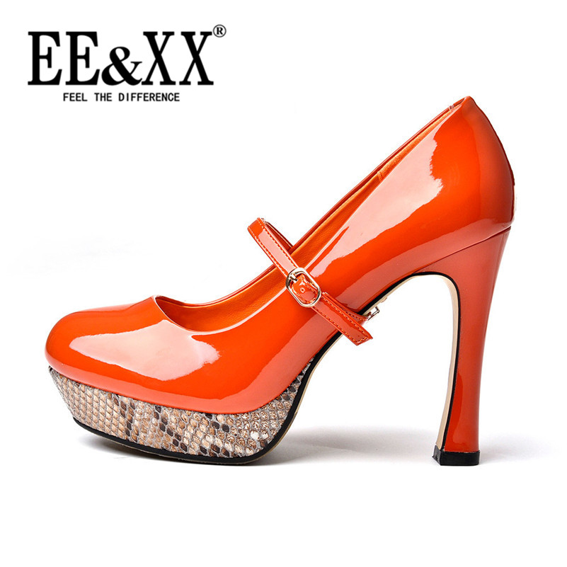 Summer new fashion solid color EEXX2016 hornskin rubber adhesive sets foot shoes high heels shallow mouth casual shoes 1028
