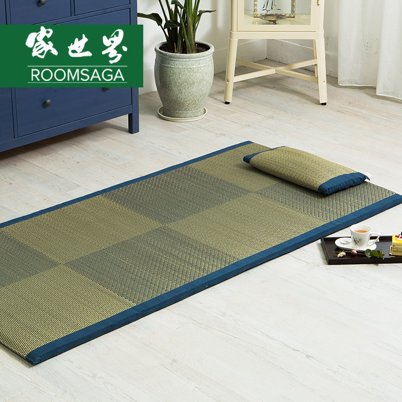 Summer student dormitory lunch mat mats straw mats mat single 0.9 1 mega thick mattress mattress noah