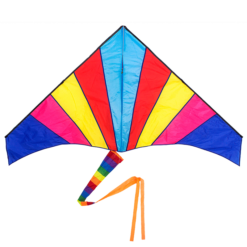Sunshine children weifang kite kite large rainbow kite flying good breeze to fly 1.8 m free shipping