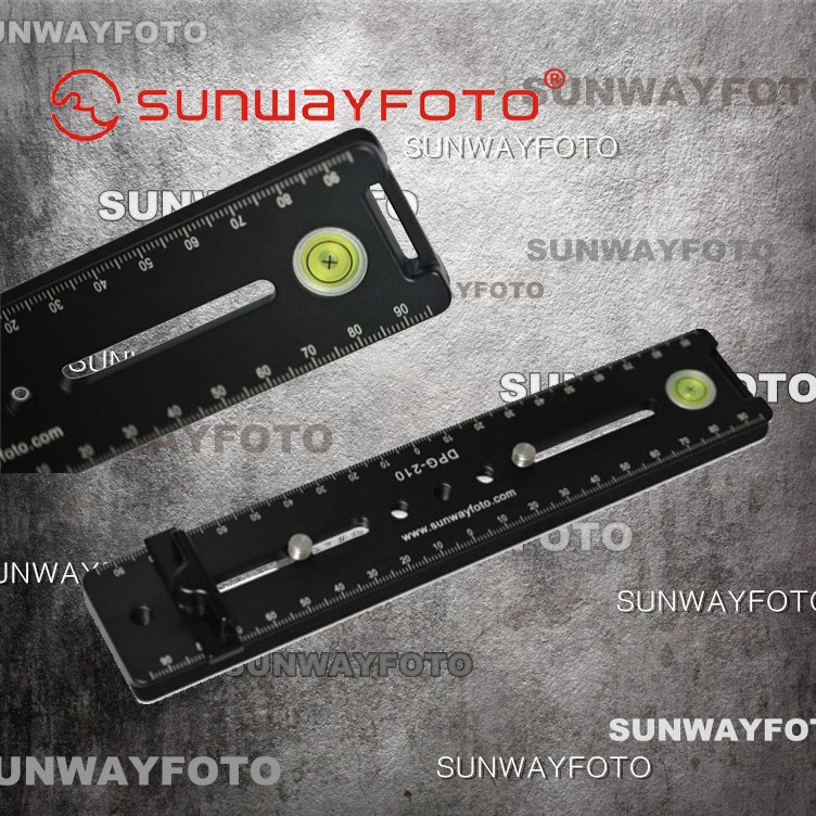 Sunwayfoto/sheng wei DPG-210 multifunction universal quick longboard seamless panoramic photography