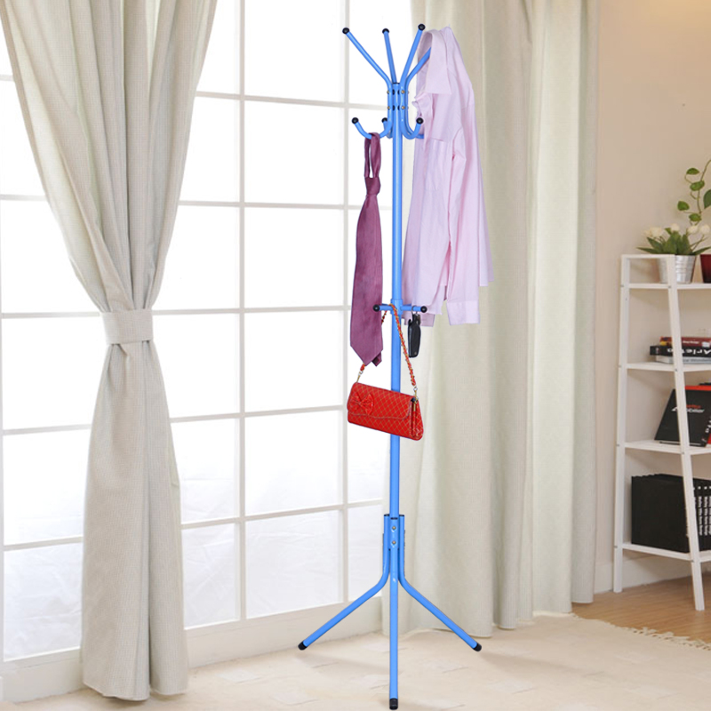 Suo ernuo coat rack clothes rack hanger floor bedroom creative fashion clothes rack wrought iron hanging clothes rack free shipping