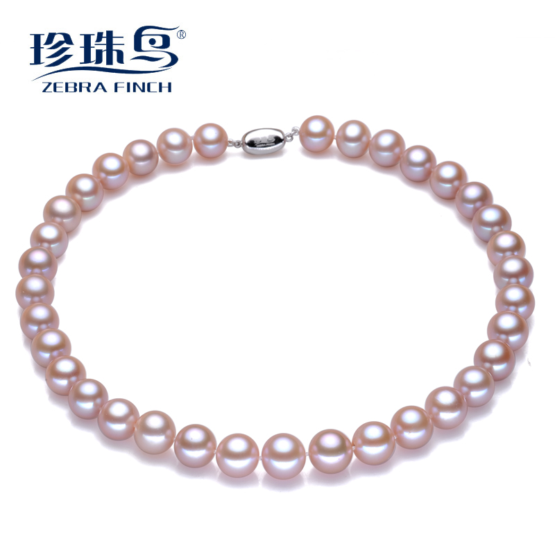 Super bright 15mm centimetres day bird pearl jewelry freshwater pearl necklace perfect circle strong however to send her mother a gift