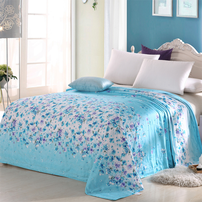 Superior product 100% mulberry silk air conditioning is cotton cotton summer was cooler summer quilt thin sheets were double child