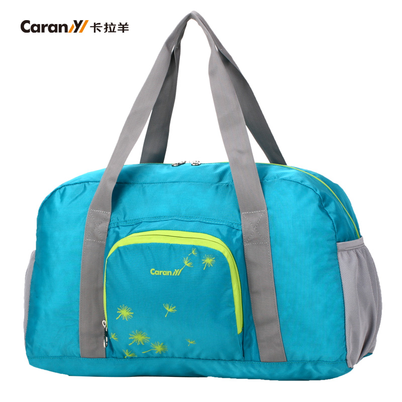 [Supermarket] lynx caran convenient travel folding collapsible shoulder bag shoulder messenger 3251