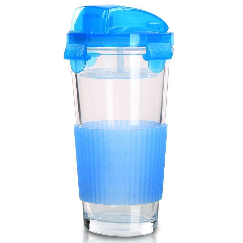 [Supermarket] lynx NC-8674 keruisituo glass cup sports cup travel cups juice cup 400 ml