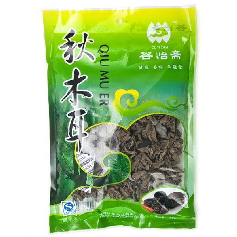 [Supermarket] lynx valley yee chai 150g black fungus northeast autumn fungus rootless flesh xiaoqiu ear Black fungus
