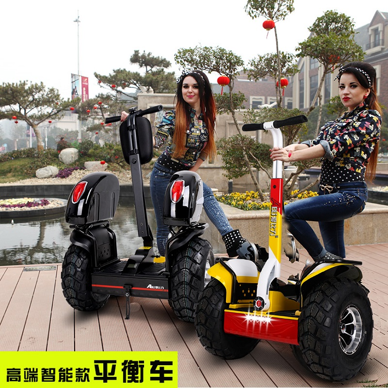 Suv car somatosensory wheeled self balancing wheel electric scooter scooters two children into people monowheel smart bike