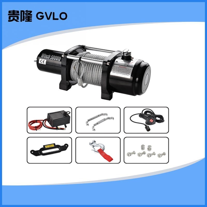 Suv winch | car | car | electric winch electric winch 5000 lbs winch | 20 m 12 v